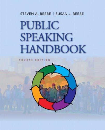 9780205029402: Public Speaking Handbook (4th Edition)