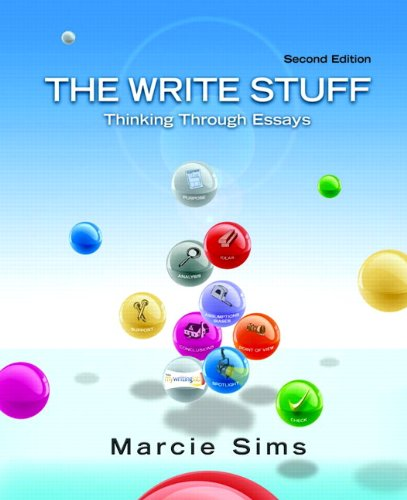 9780205029525: The Write Stuff: Thinking Through Essays (2nd Edition)