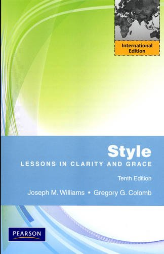 9780205029884: Style: Lessons in Clarity and Grace