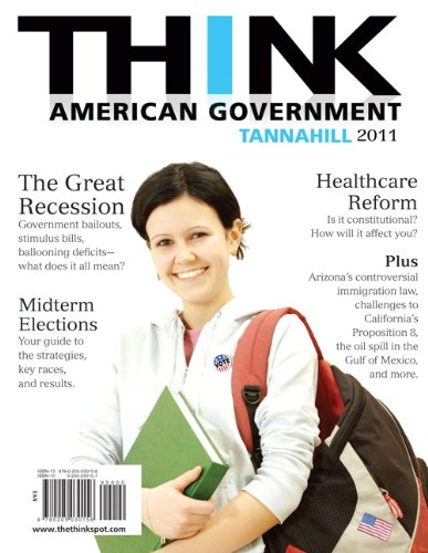 9780205030156: Think American Government, 2011 Edition (3rd Edition)