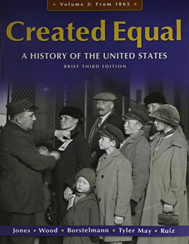 9780205030385: Voices of Created Equal, Volume II with Created Equal: A History of the United States, Brief Edition, Volume 2 (3rd Edition)
