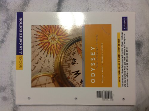9780205030781: Odyssey: From Paragraph to Essay, Books a la Carte Edition (6th Edition)