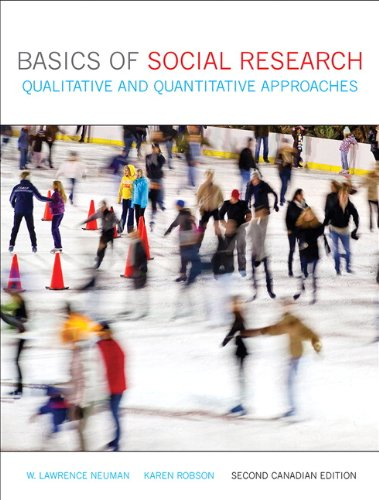 9780205031733: Basics of Social Research: Qualitative and Quantitative Approaches, Second Canadian Edition with MyResearchKit