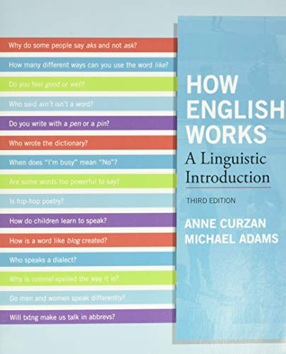 9780205032280: How English Works: A Linguistic Introduction (3rd Edition)