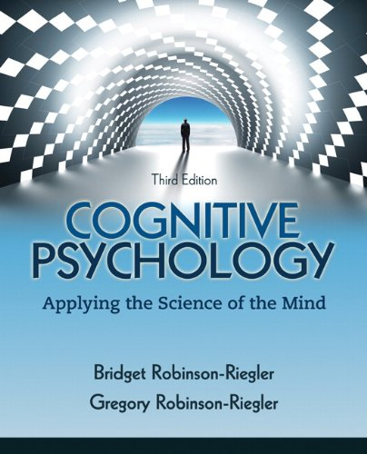 9780205033645: Cognitive Psychology: Applying The Science of the Mind (3rd Edition)