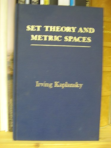 9780205034444: Set Theory and Metric Spaces