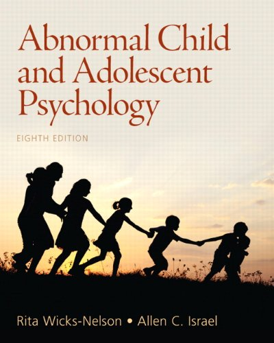 9780205036066: Abnormal Child and Adolescent Psychology (8th Edition)