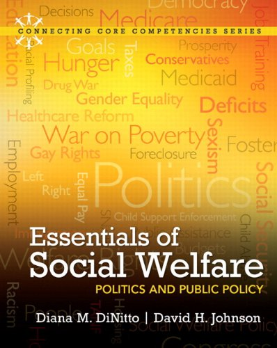 9780205042555: Essentials of Social Welfare: Politics and Public Policy Plus MySocialWorkLab with eText -- Access Card Package (Connecting Core Competencies)