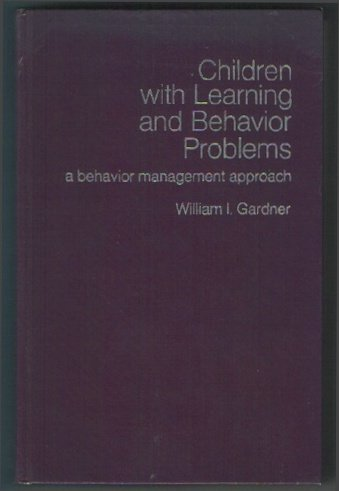 9780205043323: Children with Learning and Behavior Problems: A Behavior Management Approach