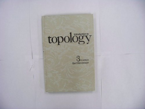 9780205044955: Introduction to Topology. Third Edition