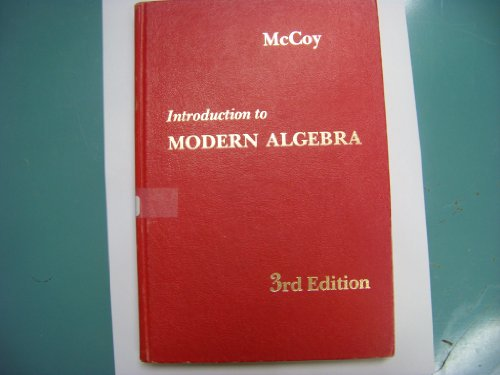 9780205045457: Introduction to Modern Algebra