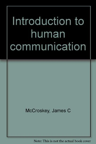 9780205050017: Introduction to human communication