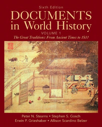 Documents in World History: Stearns
