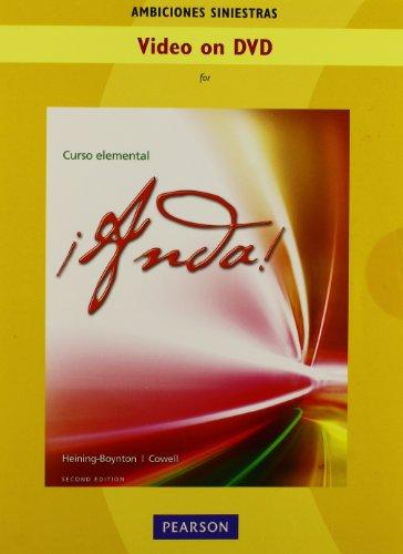 9780205050468: Video DVD (Ambiciones siniestras) for ¡Anda! Curso elemental