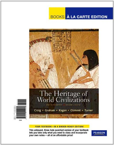 9780205052264: The Heritage of World Civilizations, Volume 1: Brief Edition, Books a la Carte Edition (5th Edition)