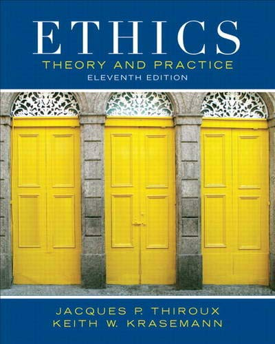 9780205053148: Ethics: Theory and Practice