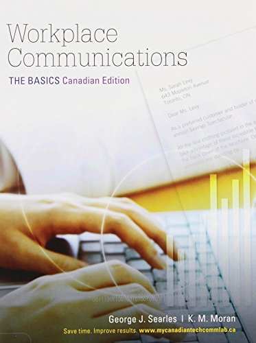 9780205055722: Workplace Communications: The Basics, First Canadian Edition with MyCanadianTechCommLab