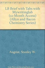LB Brief with Tabs with MyWritingLab (12-month access) (4th Edition) (Allyn and Bacon Chemistry ...