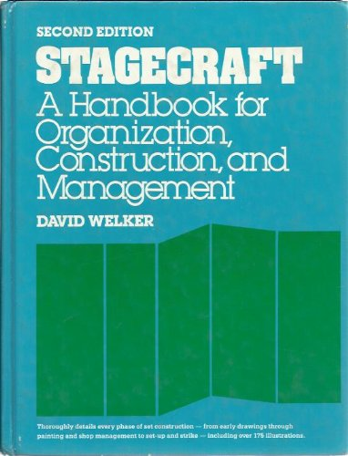 9780205055890: Stagecraft: A handbook for organization, construction, and management