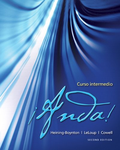 9780205055968: ¡Anda! Curso intermedio (2nd Edition)