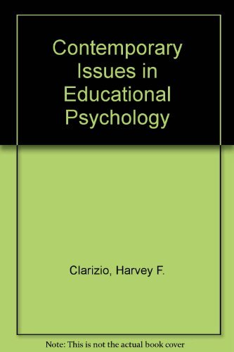 9780205056279: Contemporary Issues in Educational Psychology
