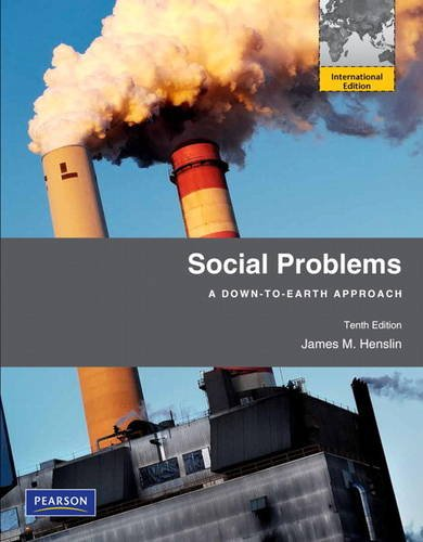9780205056613: Social Problems: A Down-To-Earth Approach: International Edition