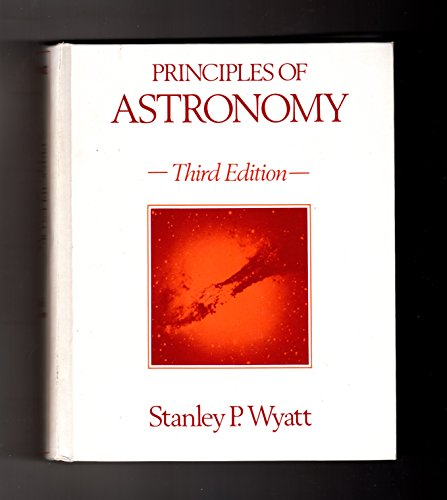 Principles of Astronomy: Stanley P. Wyatt