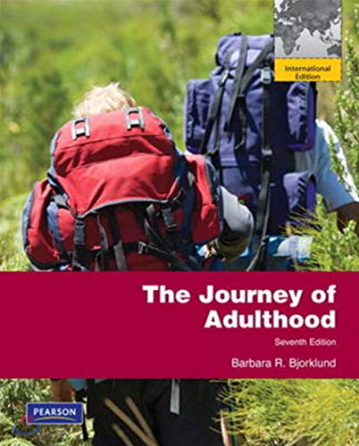 9780205056927: Journey of Adulthood: International Edition