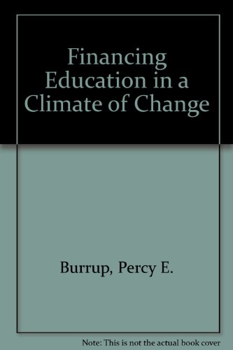 9780205056965: Financing Education in a Climate of Change