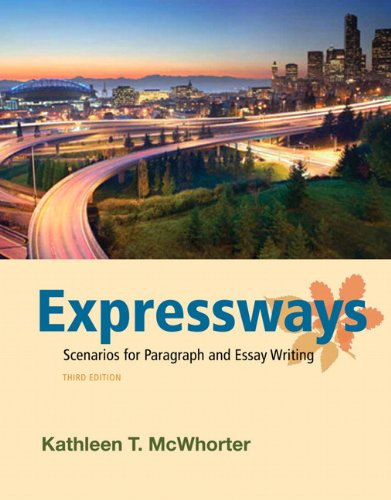 9780205058068: Expressways: Scenarios for Paragraph and Essay Writing (3rd Edition)
