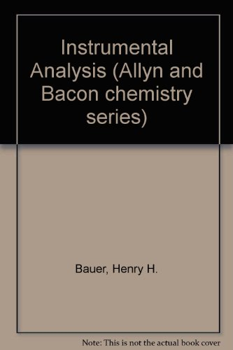 9780205059225: Instrumental Analysis (Allyn and Bacon chemistry series)