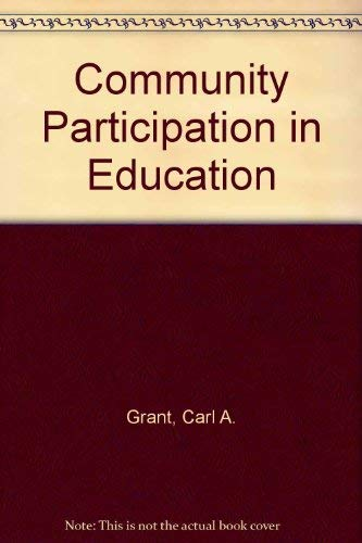 9780205060528: Community Participation in Education