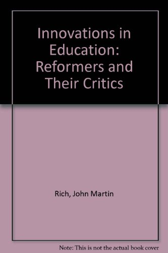 9780205060597: Innovations in Education: Reformers and their Critics