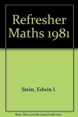 9780205061600: Stein's Refresher Mathematics