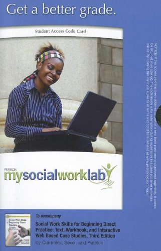 9780205063406: MySocialWorkLab without Pearson eText -- Standalone Access Card -- for Social Work Skills for Beginning Direct Practice: Text, Workbook, and ... Edition) (Mysocialworklab (Access Codes))