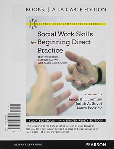 Social Work Skills for Beginning Direct Practice: Cummins, Linda K.,