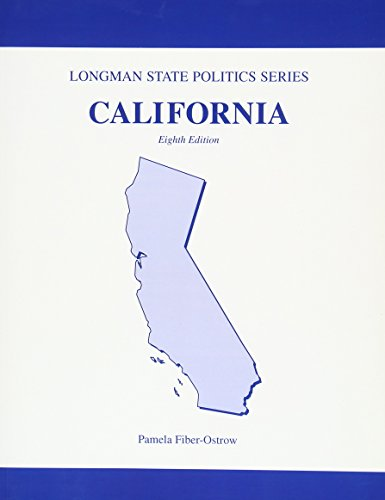 California Politics (Longman State Politics Series): Pearson Learning Solutions