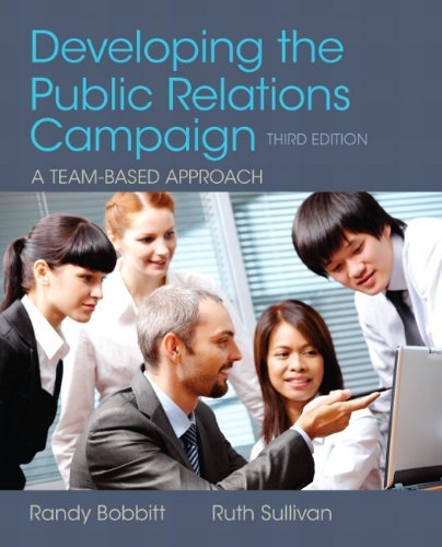 9780205066728: Developing the Public Relations Campaign (3rd Edition)