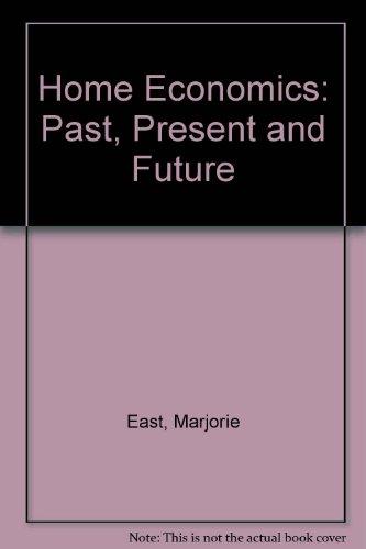 9780205066803: Home Economics: Past, Present and Future