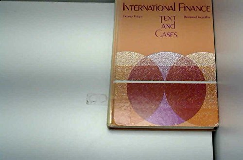 9780205071371: International Finance: Text and Cases