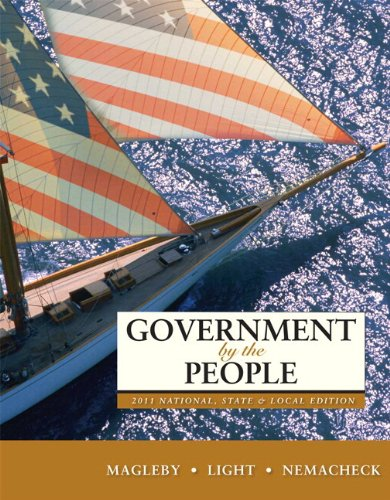 9780205073252: Government by the People, 2011 National, State, and Local Edition Plus MyPoliSciLab -- Access Card Package with eText -- Access Card Package: A Selection of Influential Articles