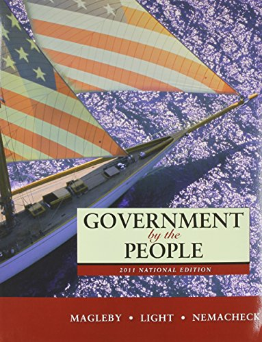 9780205073276: Government by the People, 2011 National Edition Plus MyPoliSciLab with eText -- Access Card Package (24th Edition)