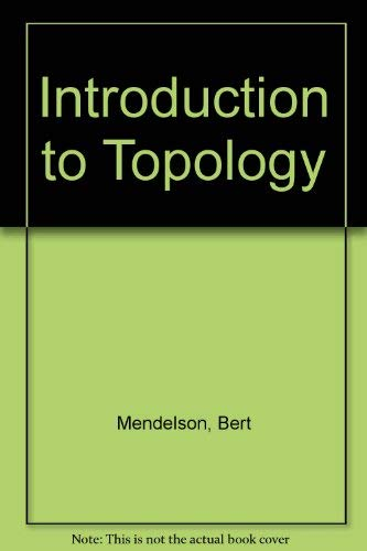 9780205073375: Introduction to Topology