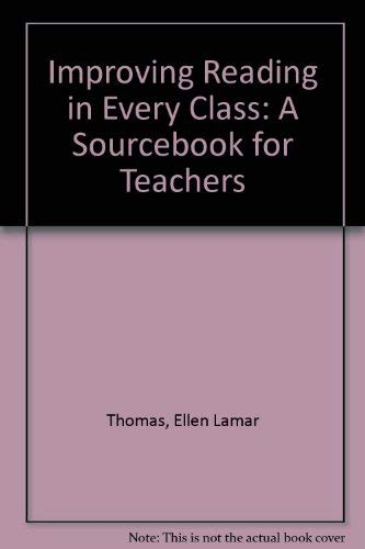 9780205073658: Improving Reading in Every Class: A Sourcebook for Teachers