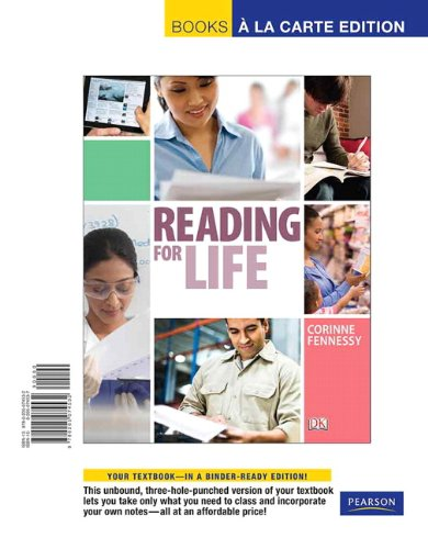 9780205074532: Reading for Life, Books a la Carte Edition