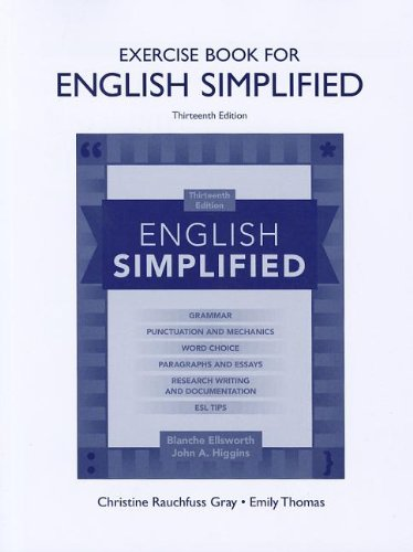 9780205074822: Exercise Book for English Simplified