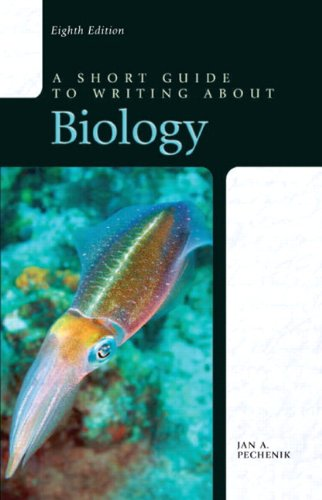 9780205075072: A Short Guide to Writing about Biology (8th Edition)
