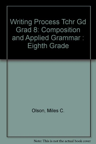 9780205075430: Writing Process: Composition and Applied Grammar : Eighth Grade