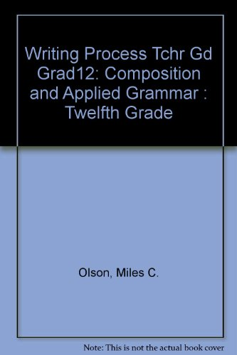 9780205075515: Writing Process: Composition and Applied Grammar : Twelfth Grade