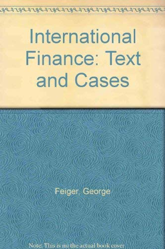 9780205076024: International Finance: Text and Cases
